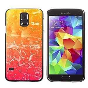 "For Samsung Galaxy S5 , S-type haos Uzor svet cvet Shtrih ()"" - Arte & diseño plástico duro Fundas Cover Cubre Hard Case Cover"