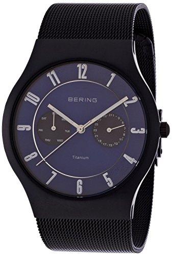 BERING watch Sapphire Glass Titanium 11939-078 Men's [regular imported goods]