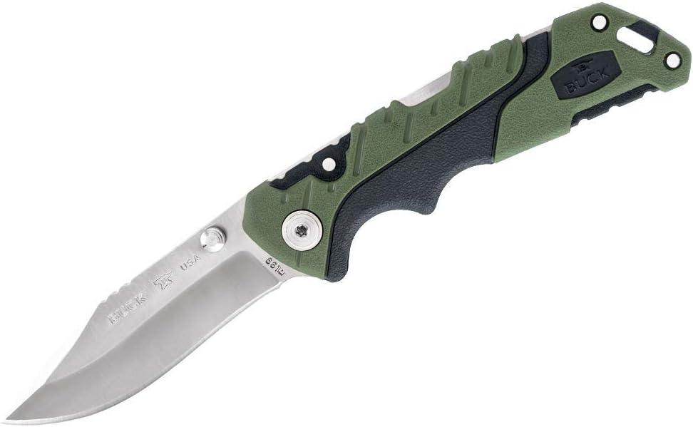 Agujero de pulgar, Lat/ón clavos pulgares plegables un paquete. Buck y los otros cuchillos de bolsillo de la EDC