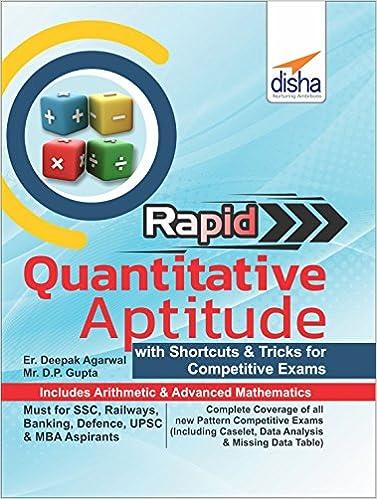 Solving questions pdf for quantitative tricks aptitude