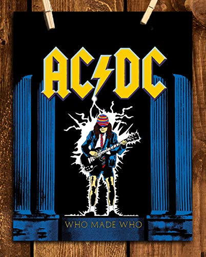 (AC DC Band Music Poster