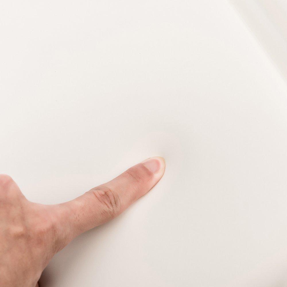 TANBURO/® Badewannenkissen Nackenkissen Wannenkissen Badekissen,Rutschfest,Ergonomisch,36.5cm x 31cm x 4cm-5cm,wei/ß