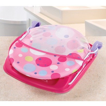 012914185353 - Summer Infant Deluxe Baby Girl Bather 3 Position Pink carousel main 3