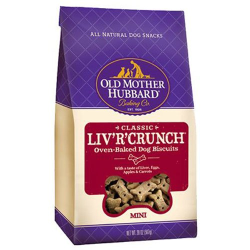Old Mother Hubbard Classic Crunchy Natural Dog Treats, Liv'R