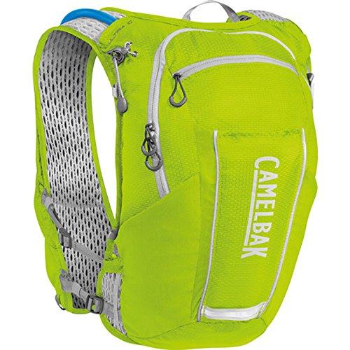CamelBak Ultra 10 Crux Reservoir Hydration Vest, Lime Punch/Silver, 2 L/70 oz