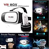 Original Rokea VR Box 2.0 With FREE Bluetooth Remote Controller - VR Box with Remote - 3D VR Headset - Virtual Realty Glasses with Adjustable Lenses - Virtual Reality Gear - 3D VR Glasses - Light Weight Product - Inspired by Google Cardboard - Plays 3D Movies, Videos & Games - Supports 4.7 to 6 Inch IOS & Android Smart Phones - 2nd Generation Virtual Augmented Reality -2017 Latest Arrival for iPhone 6S, 6 Plus, 6,5S,5,4S, Samsung, Sony, LG, HTC, Nexus 6, Lenovo K4 Note,OnePlus & Moto