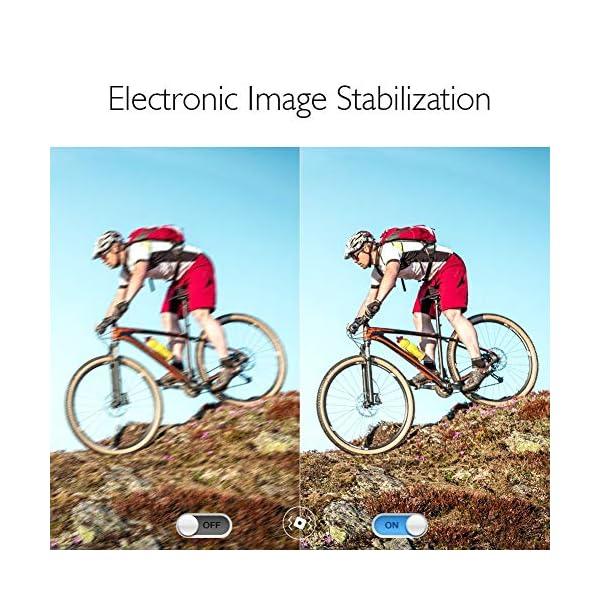 AKASO Caméra Sport 4K/60fps WiFi 20MP EIS Écran Tactile Ultra HD EIS Etanche 39M Caméra d'Action Télécommande Angle…