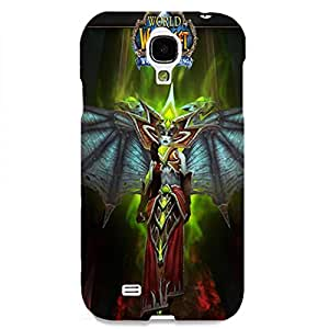 World of Warcraft Theme Cool and Unique Design Customized Slim Durable Hard Plastic 3D Case for Samsung Galaxy S4 waz68051