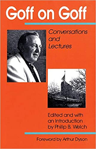 Conversations and Lectures Goff on Goff
