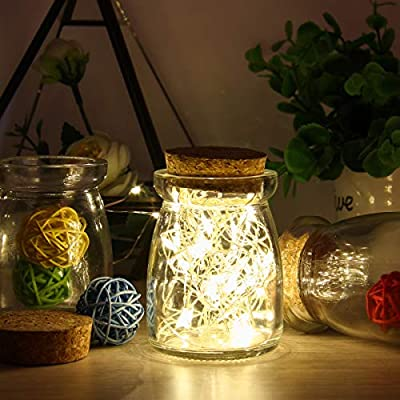 BZONE 5M Battery Powered String Lights