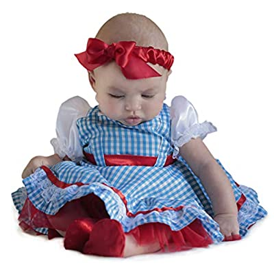 Princess Paradise Baby Girls' The Wizard of Oz Dorothy Newborn Deluxe Costume: Clothing