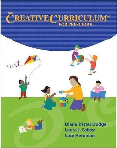 Creative Curriculum For Preschool College