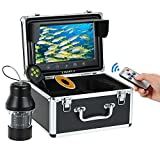 Lixada Underwater Fish Finder 1000TVL 9inch Large Color Screen Underwater Fishing Camera with 18 Infrared IR LED Night Vision, 360° Full Angle, 30M Cable Review