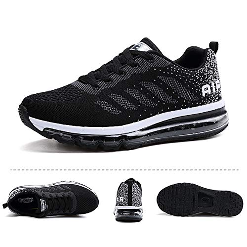 Baskets Homme Femme Chaussures de Course Sport Unisexe Sneakers Gym Fitness Multicolore Respirante Shoes 2
