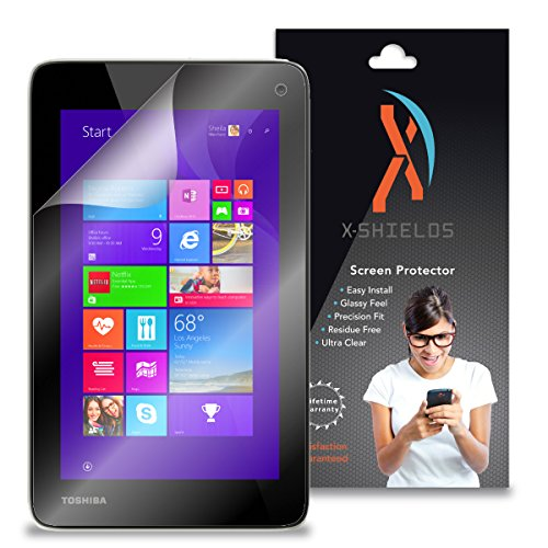 XShields© (3-Pack) Tablet Screen Protectors for Toshiba Encore Mini (Ultra Clear)