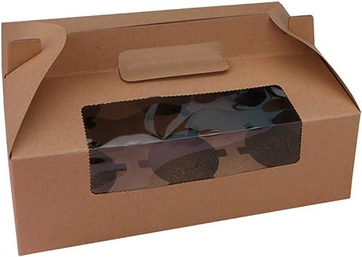 BESTONZON - 10 Cajas de panadería para Mostrar Ventanas, Libro ...