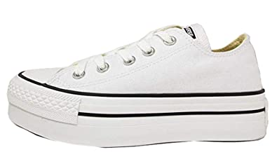 ecc34f2522e4d Amazon.com | Converse Chuck Taylor All Star Lo (11 M, Platform White ...