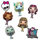 Monster High Toy Funko Pop Dolls Figures Combo Set - 5 Pack