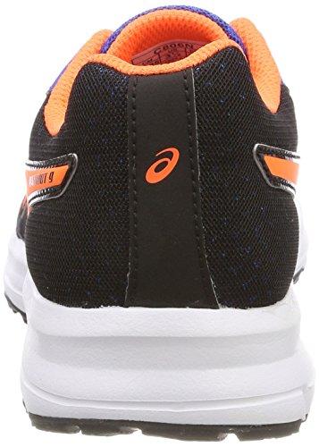 Asics Patriot 9 GS, Zapatillas de Running Unisex Niños Azul (Victoria Blue/shocking Orange/black 4530)
