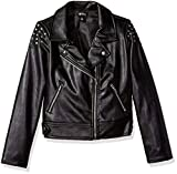 Kyпить Disney Big Girls' Descendants Studded Moto Jacket, Black, XL на Amazon.com