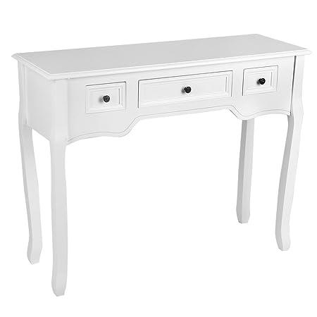KingshopS - 3 cajones de almacenamiento para salón, mesa, tocador ...