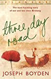Front cover for the book Three Day Road by Joseph Boyden