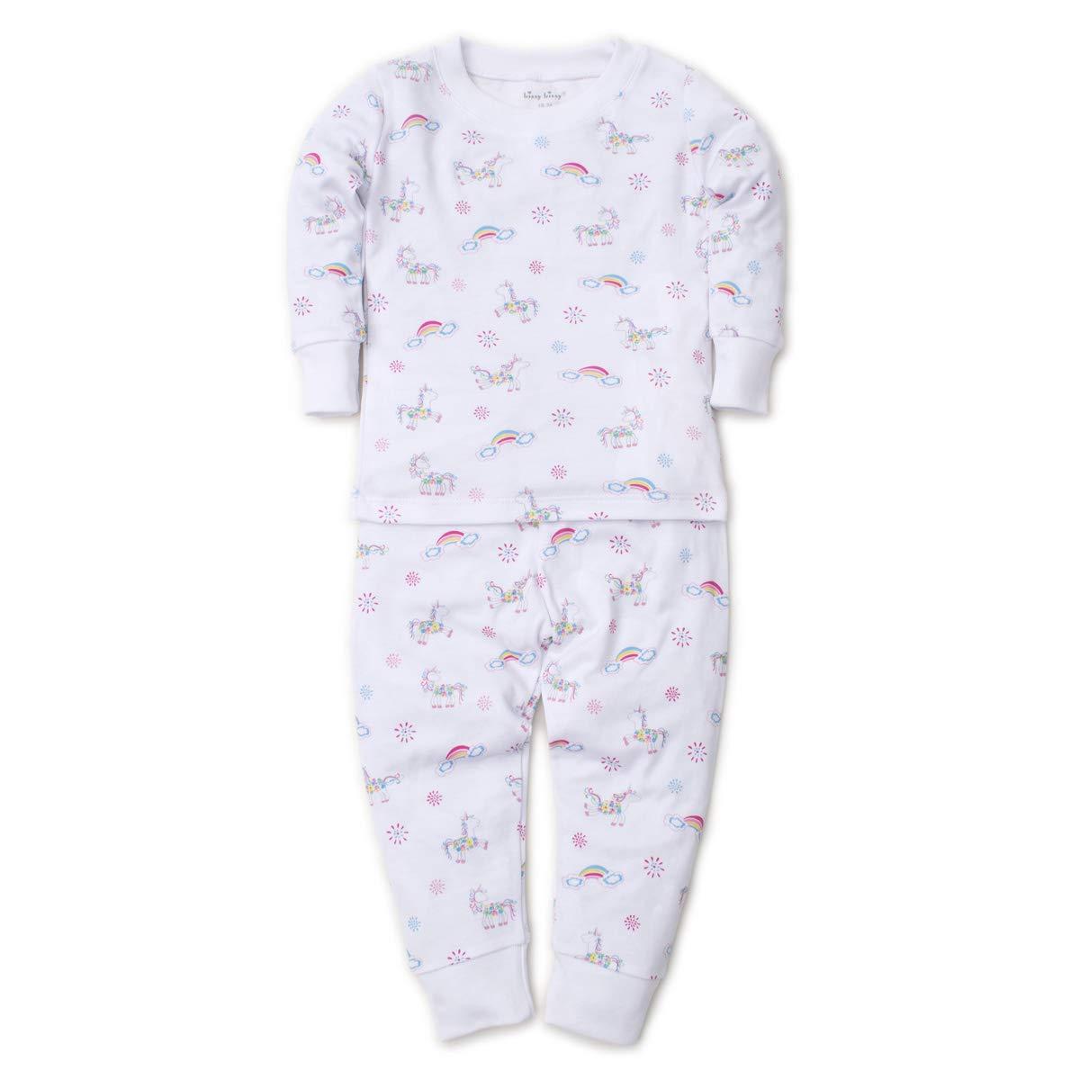 Kissy Kissy Baby Girls Rainbow Unicorns - Print Pajama Set - Snug Fit-6 by Kissy Kissy