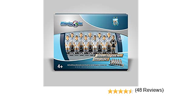 Figuras de equipo para futbolín Minigols - 5ARG-2014-2: Amazon.es ...