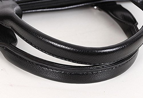 Computer Men's Business Fashion Bag Handbag Shoulder Package Black1 Briefcase rqaFxqZYPw