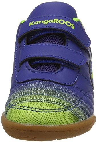 KangaROOS Chelo Court V - Zapatillas Unisex Niños Mehrfarbig (Royal/lime)