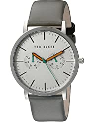 Ted Baker Mens TE1093 Smart Casual Round Grey Multi-Function Silver Dial Watch