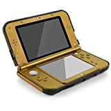 TNP New 3DS Case (Gold) - Plastic + Aluminium Full Body Protective Snap-on Hard Shell Skin Case Cover for New Nintendo 3DS 2015 by TNP Products