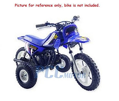Amazon.com: 11L MOTORCYCLE DIRT BIKE TRAINING WHEELS FOR YAMAHA PW50 PW PY 50 PEE WEE TW03: Automotive