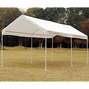 Nice Snail 10 X 20 Feet Outdoor Waterproof Carport Canopy UV Protected Portable  Shelter Canopy Party