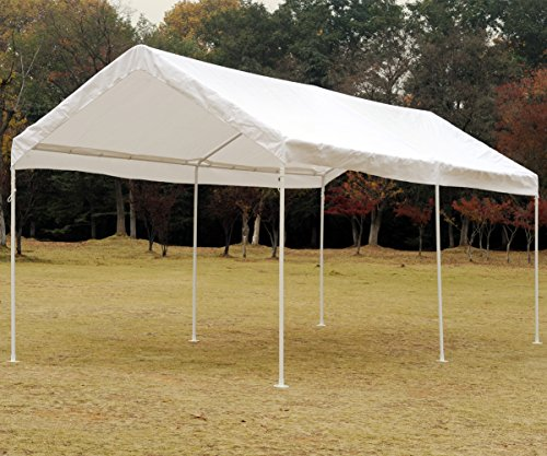 SNAIL 10 x 20-Feet Outdoor Waterproof Carport Canopy UV Protected Portable Shelter Canopy Party Wedding Tent with Anchor Kit, (Vehicle Shelter)