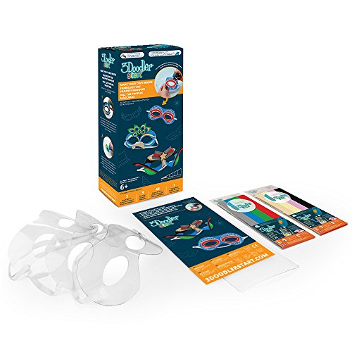 3Doodler Start Make Your Own Masks Activity Kit, (3D Pen Not Included)