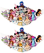 "Lilly's Love Stuffed Animal Storage Hammock - Large Pack 2 -""STUFFIE PARTY"