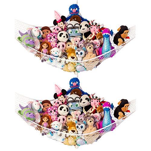 "Lilly's Love Stuffed Animal Storage Hammock - Large Pack 2 -""STUFFIE Party Hammock"""