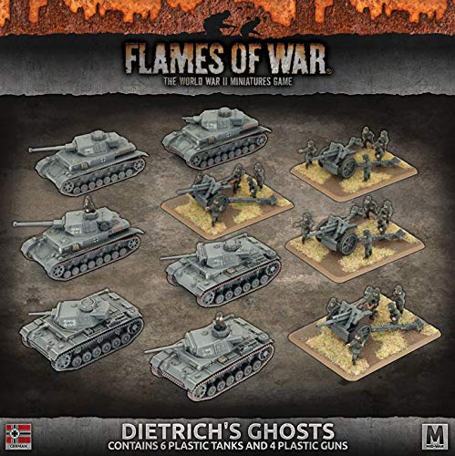 Flames of War: Mid War: German: Dietrich's Ghosts Army Box (GEAB16)