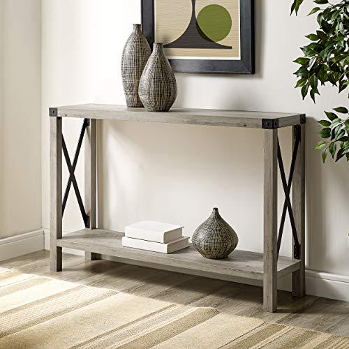 WE Furniture AZF46MXETGW Entryway Table, 46