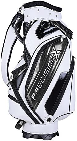 AW Waterproof Golf Carry Bag 18x10x51 w 9 Pockets for Male Adult Golf Accessory Sport