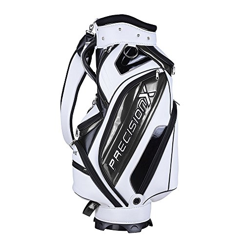 AW Waterproof Golf Carry Bag 18x10x51' 5-Way 9 Pockets For Male Adult Golf Accessory Sport -
