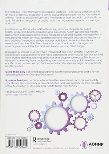 Contemporary Occupational Health Nursing