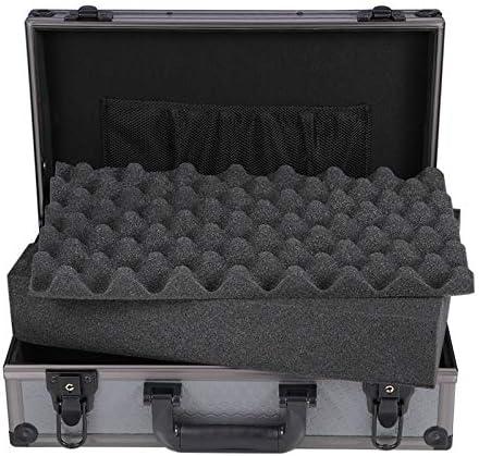 YANGQI Cajas para Armar Estuche Rígido de Aluminio Estuche Rígido con Inserto de Espuma Caja de Herramientas Metálica Pequeña con Protección de Bordes Múltiples Especificaciones para Elegir Gris: Amazon.es: Hogar