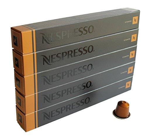 NESPRESSO 네스프레소 캡슐 커피 liver《도》 1개 10캡슐×5개 세트