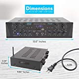 500W Karaoke Wireless Bluetooth Amplifier - 4