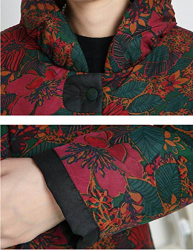 100% Mulberry Silk Womens Tang Suits Cotton-padded Jackets Chinese Coats Womens Jackets by Womens Tang Suit (Image #6)