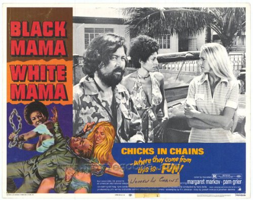 Black Mama, White Mama POSTER Movie (1972) Style A 11 x 14 Inches - 28cm x 36cm (Pam Grier)(Margaret Markov)(Sid Haig)(Lynn Borden)(Zaldy Zschornack) (White Mama Poster)