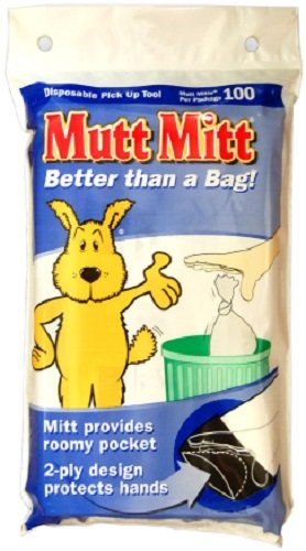 100 Count Units (Mutt Mitt Dog Waste Pick Up Bag, 100-Count)