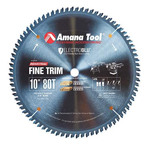 - Amana Tool - 610800C Electro-BLU Carbide Tipped Trim 10
